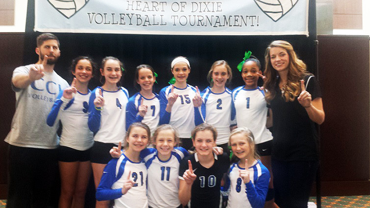 CCJ 12's win Heart of Dixie Tournament in Montgomery, AL