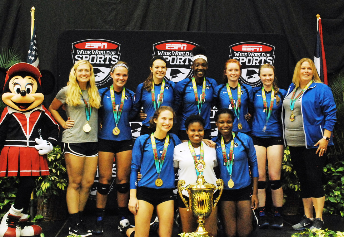17-1 WINS THE GOLD @ AAU NATIONALS