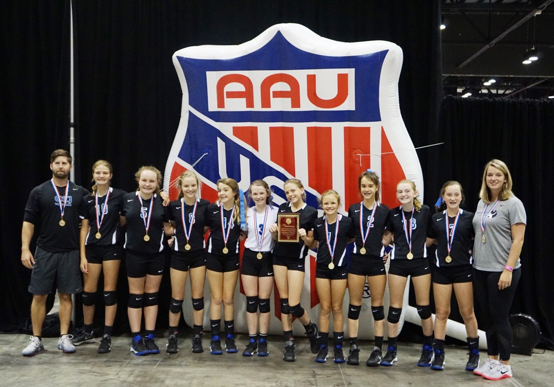12-1 WINS SILVER @ AAU NATIONALS