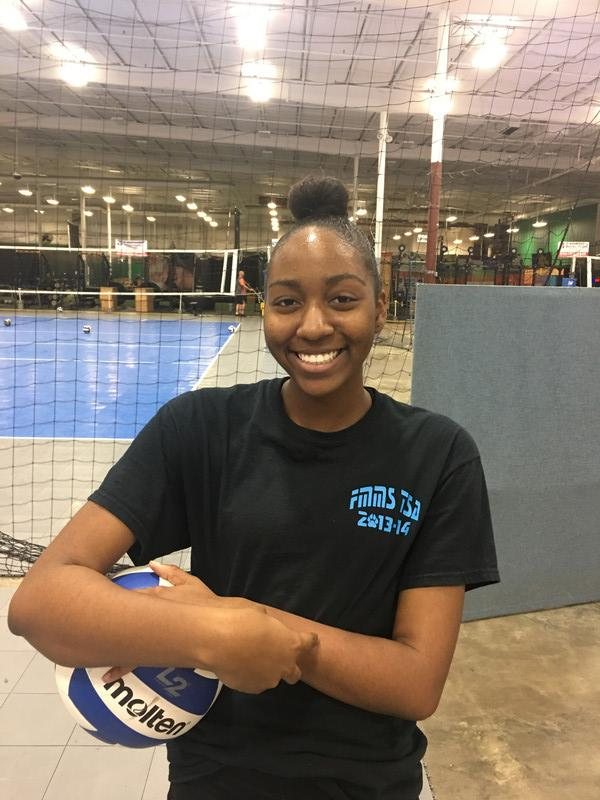 Capital City Juniors Volleyball Club 2019:  Simone Brown