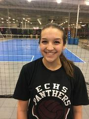 Capital City Juniors Volleyball Club 2019:  #10 Madison Traylor