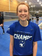 Capital City Juniors Volleyball Club 2019:  #7 Molly Presnell
