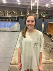 Capital City Juniors Volleyball Club 2019:  #8 Emma Cleary