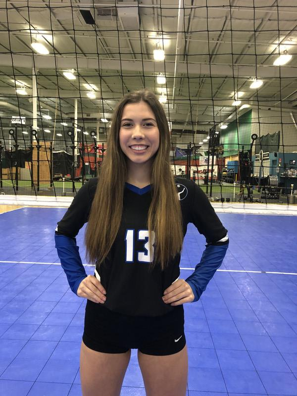 Capital City Juniors Volleyball Club 2019:  Mirriam Foster
