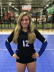 Capital City Juniors Volleyball Club 2019:  #12 Teddy Grace Jackson