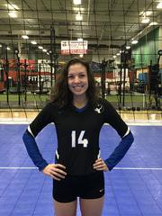 Capital City Juniors Volleyball Club 2019:  #14 Julie Lawrence (Julie)